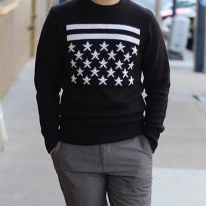 H & M Stars & Stripes Sweater